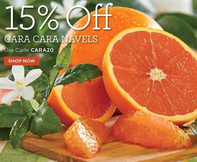 Slide Mobile - 15% Off Cara Cara Orange