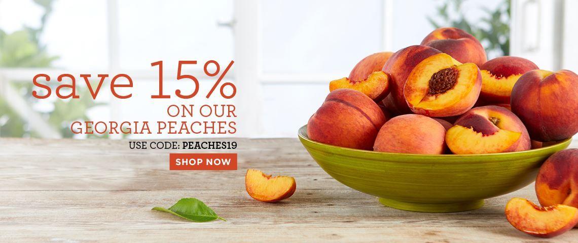 Slide - 15% Off Peaches