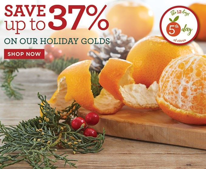 Slide Mobile - Save Holiday Gold Collection