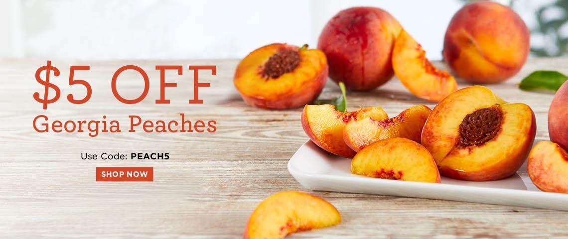 $5 off Georgia Peaches