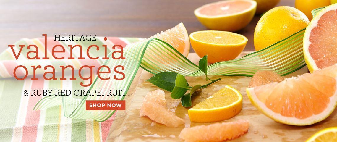 Slide- Heritage Valencias & Grapefruit