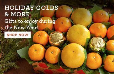 Promo - Holiday Gold Mandarins