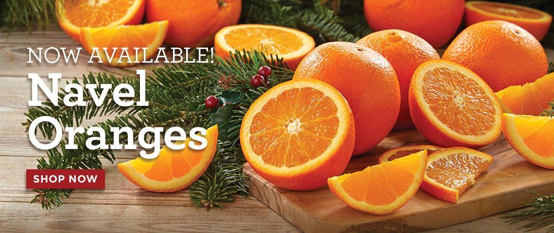 Slide - Navel Oranges