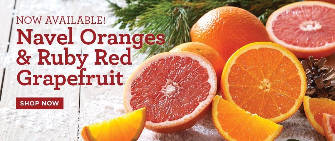 Slide - Navel Oranges and Grapefruit