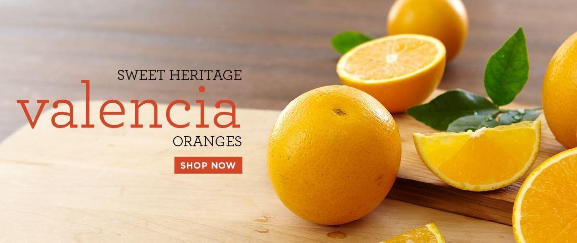 Slide - Valencia Oranges