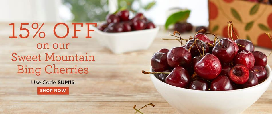 15% Off Cherries