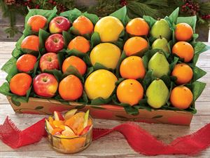 Holiday Fruit Rainbow