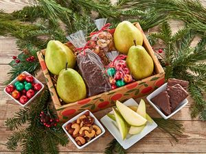Pears and Chocolates Gift Box