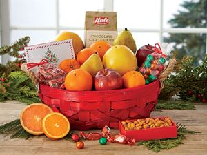 Holiday Grove Basket