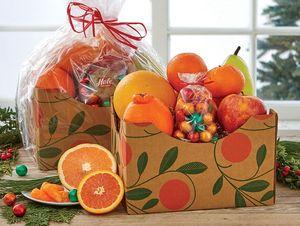Colorful Fruit Basket Box
