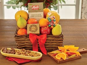 Large Holiday Tidings Gift Basket