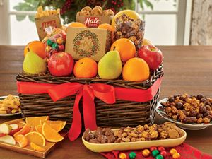 Deluxe Holiday Tidings Gift Basket