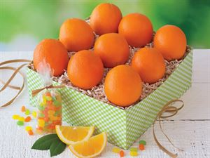 Oranges  & Jelly Bellies