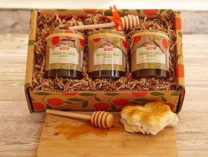 4-Pack All Orange Blossom Honey (4 - 8 oz. jars)