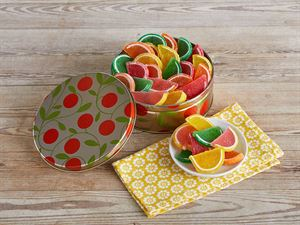 Candied Fruit Slices Gift Tin
