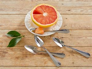four grapefruit spoons