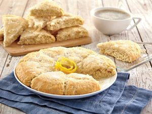 Meyer Lemon Scones  2 Rounds