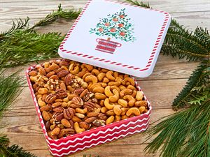 Cashew/Mixed Nut Combo tin - 30 oz
