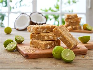 Coconut Key Lime Brownies
