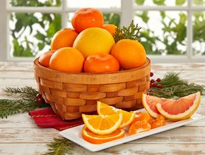 All Seasons Citrus Basket