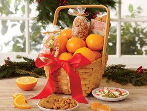 Tangerine Gift Basket