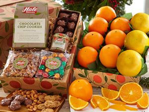 Holiday Deluxe Navels & Grapefruit, 1 tray