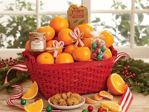 Large Festive Fruit Basket