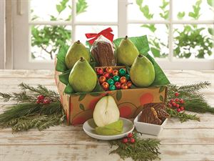 Pears and Chocolates Gift Box