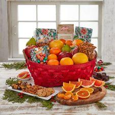 Seasons Greeting Gift Basket
