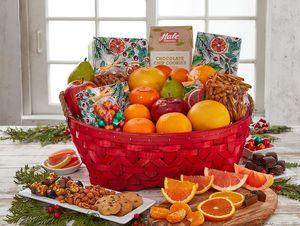 Season's Greeting Gift Basket