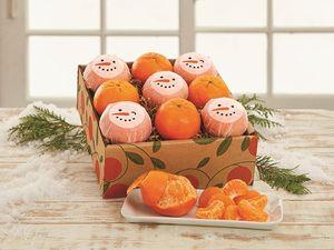 Snowman Tangerines
