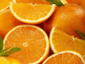 3 Trays Valencia Oranges, Approx. 27 lbs.