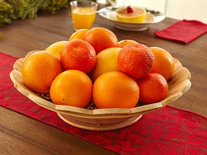Never Empty Wooden Fruit Bowl, 3 Mos