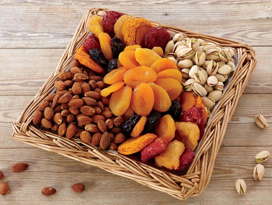 & Classic Fruit u0026 Nut Gift Box - small