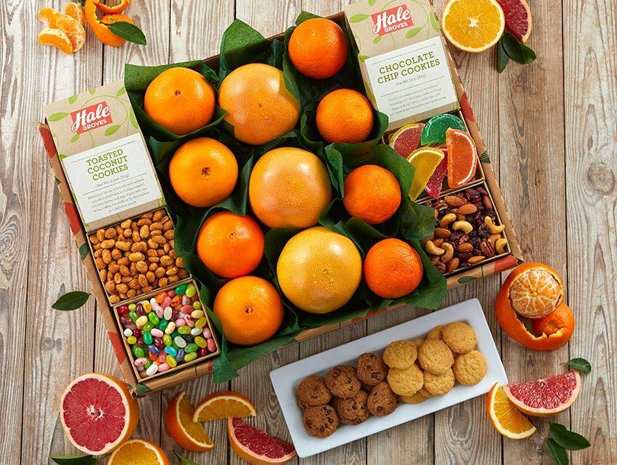 Sunshine Trio - Hale Groves - Fruit Baskets