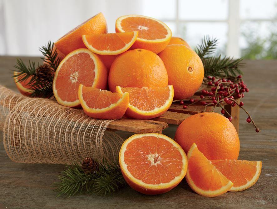 Red Navel Oranges & Grove Navels