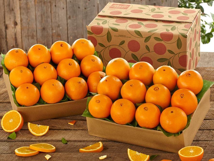 2 Trays of Cara Cara Navel Oranges