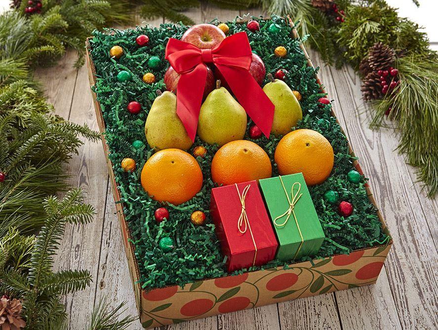 Christmas Tree Gift Box - Hale Groves - Fruit Bask