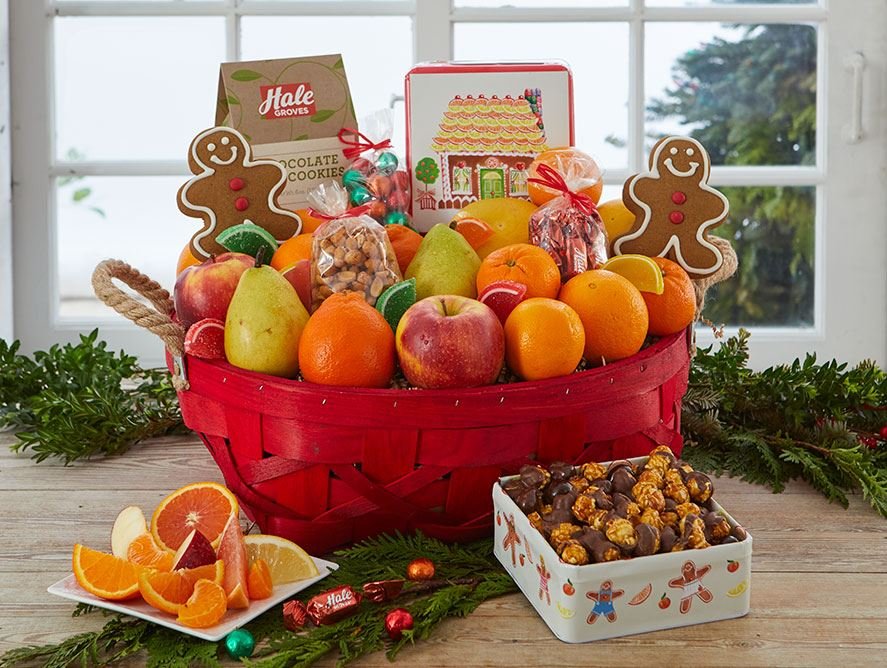 Holiday Colors Basket