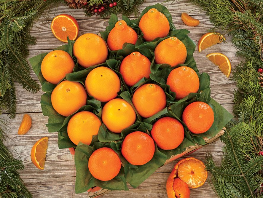 outrageous oranges gift basket