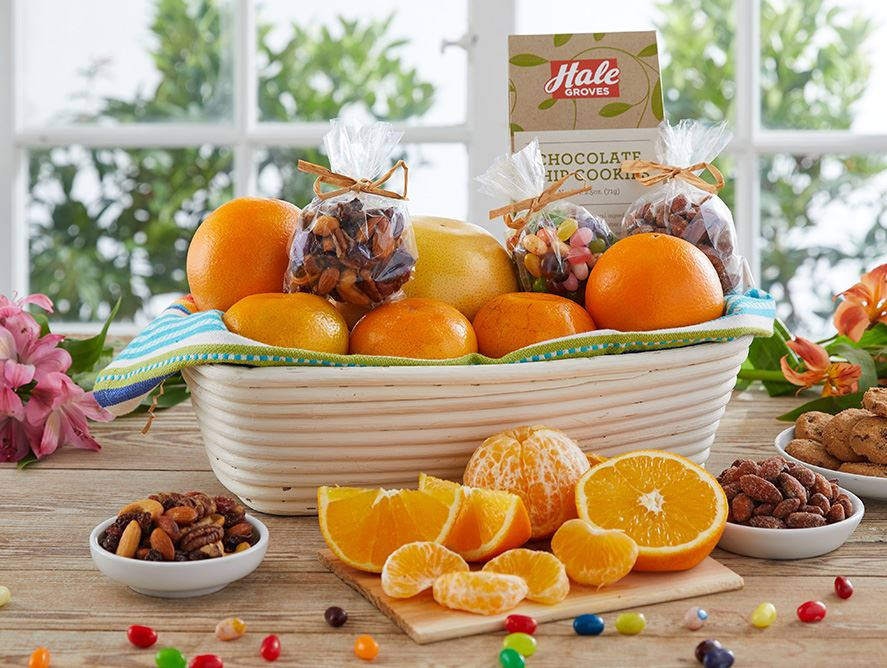 Bakers Proofing Basket with Citrus