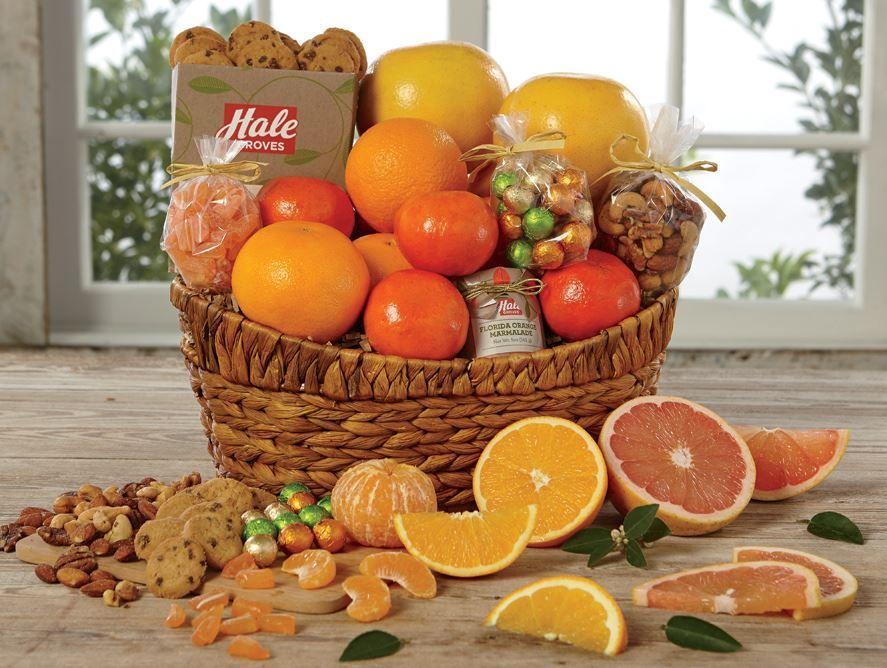 Spring Snack Basket