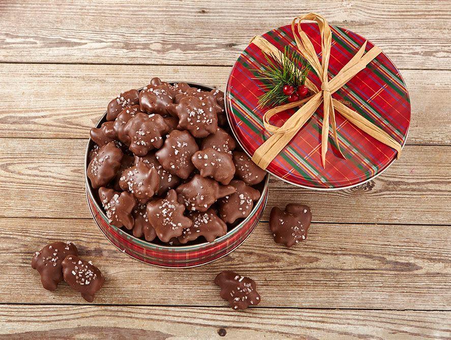 Caramel Pecan Milk Chocolates