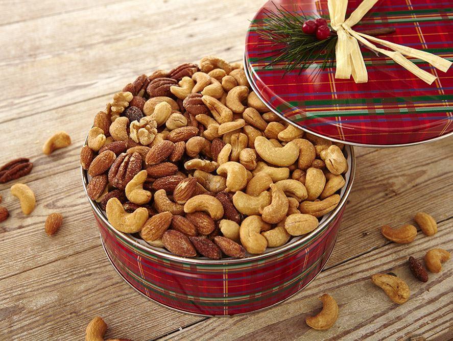 Cashew/Mixed Nut Combo tin - 30 oz