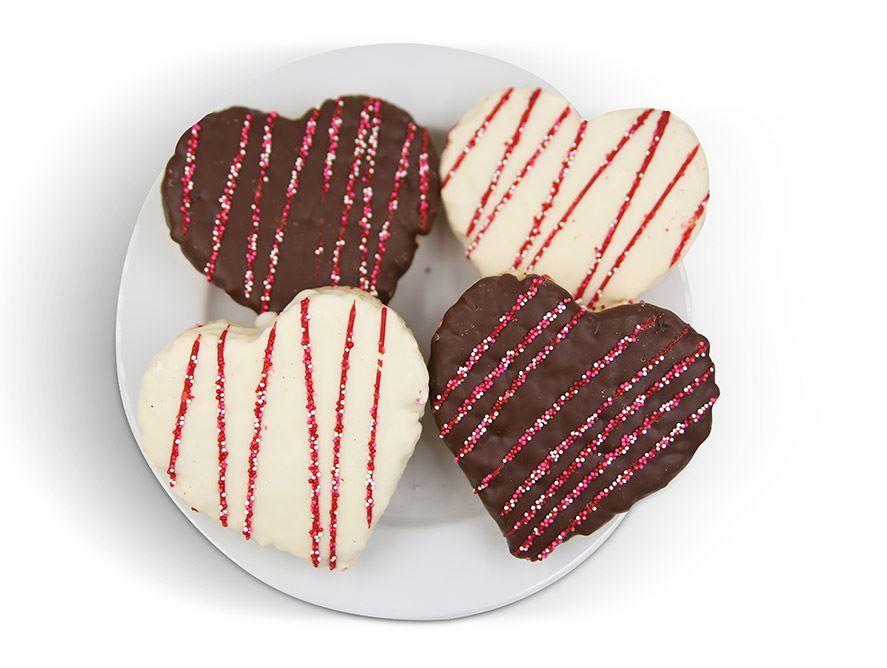 Vanilla and Chocolate Crispy Treats