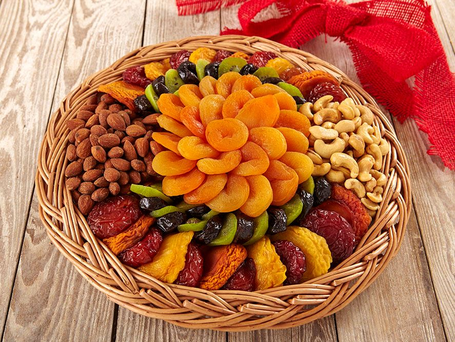Large Dried Fruit & Nut Tray
