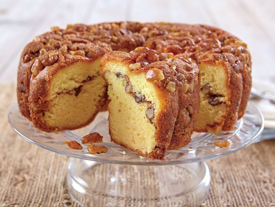 Cinnamon Walnut Coffee Cake - Hale Groves - Baked Goods