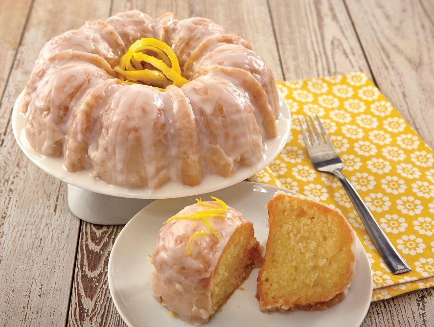 Fresh Lemon Bundt Cake