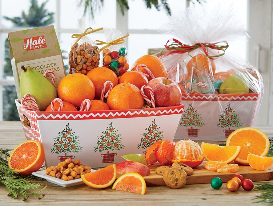 Holiday Grove Basket Box
