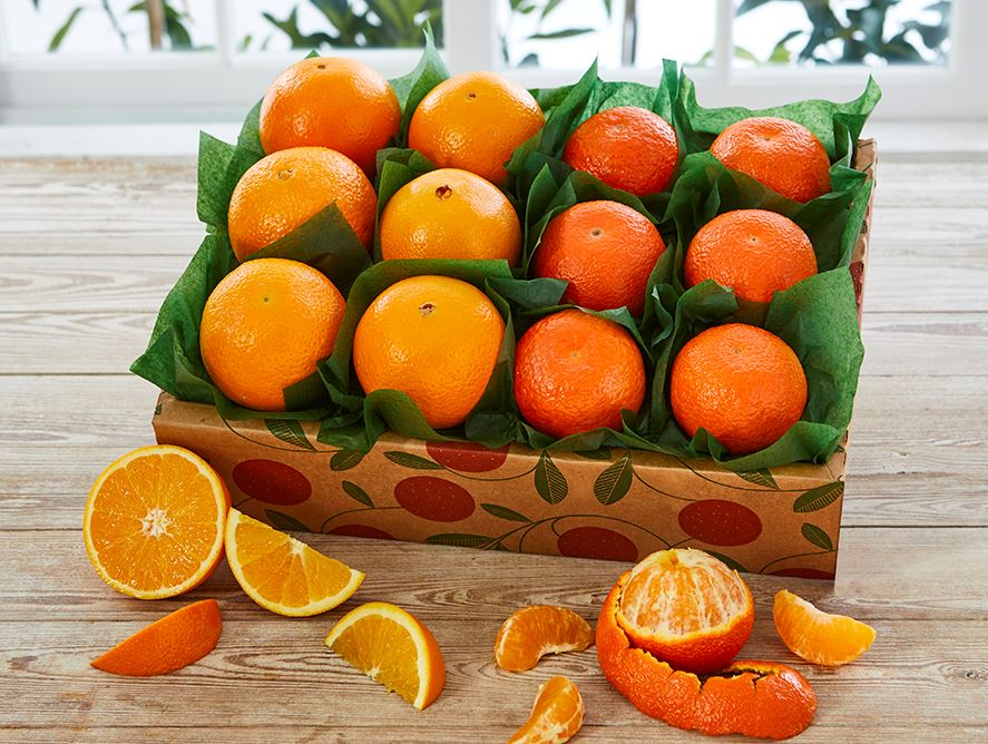 Honey-Sweet Tangerines & Grove Navels,1 Tray